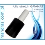 Folia stretch GRANAT 10cm CZARNA